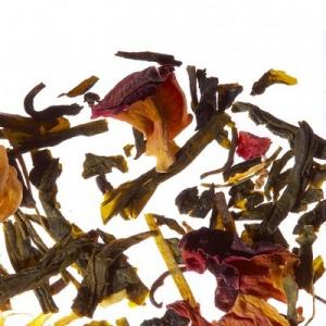 Листовой чай, зеленый ароматизированный